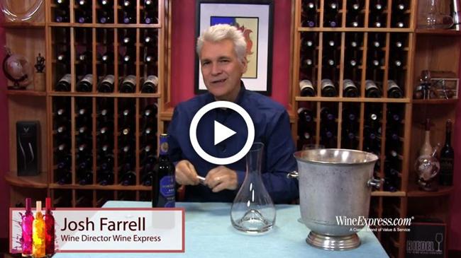 Josh Farrell, Wine Director at WineExpress.com, tastes Montecillo Reserva 2010