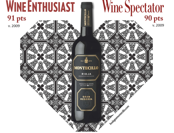 Montecillo Gran Reserva 2009 has received two fantastic ratings!