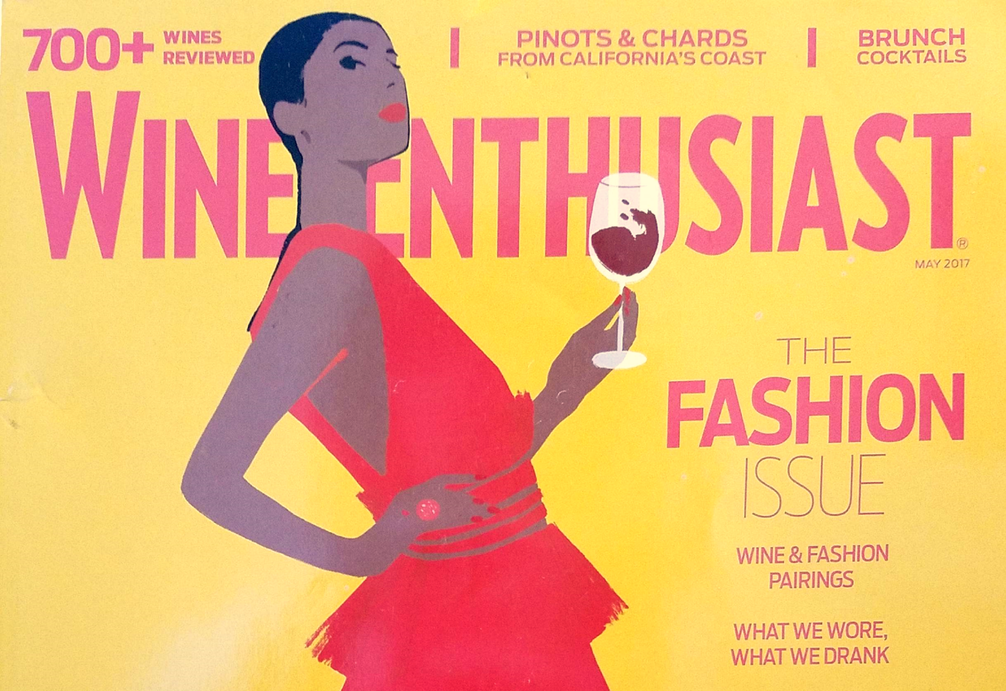 Check out this silky & spicy, full-page spotlight in May's Wine Enthusiast!