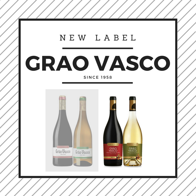 Grão Vasco Updates their Label