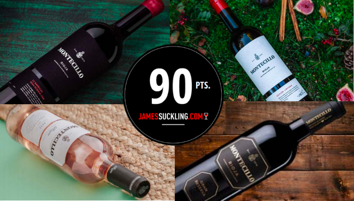 MONTECILLO WINES AMONGST THE BEST RATED IN SPAIN BY JAMES SUCKLING